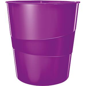 LEITZ 52781062 - Papierkorb WOW 15l violett