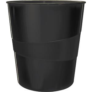 LEITZ 52781095 - Papierkorb WOW 15l schwarz