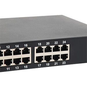 Switch, 24-Port, Gigabit Ethernet, PoE LEVELONE GEP-2421W150