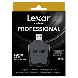 USB 3.0 XQD-Card-Reader - Lexar LEXAR LRWXQDRBEU