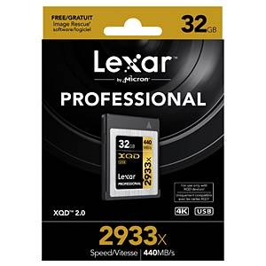 XQD Card 32 GB - Lexar Professional 2933x LEXAR LXQD32GCRBEU2933