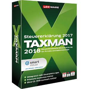 Software, Steuererklärung, TAXMAN 2018 LEXWARE 08832-0063