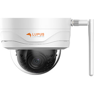 Security camera, IP, LAN, WiFi, outside LUPUS 10204