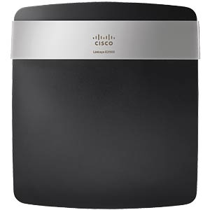 Dualband-Router, 300Mbit/s,4f.-10/100 Switch LINKSYS E2500-EW