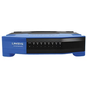 8-Port Gigabit-Ethernet-Switch LINKSYS SE4008-EJ