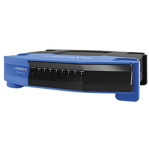 Switch, 8-Port, Gigabit Ethernet LINKSYS SE4008-EJ