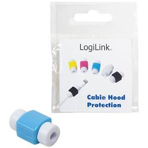 Knickschutz / Markierung für USB-Kabel, blau LOGILINK AA0091B