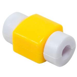 Knickschutz / Markierung für USB-Kabel, gelb LOGILINK AA0091G