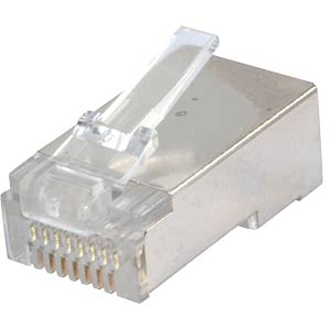 CAT5e modular connector, shielded, pack of 100 LOGILINK MP0004