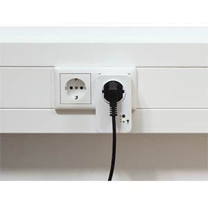 Switchable outlet via WLAN — measuring function LOGILINK PA0066