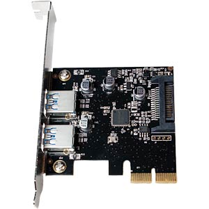 USB-Controller 3.1, 2-Port Typ-A, PCI-Expr. Karte LOGILINK PC0080