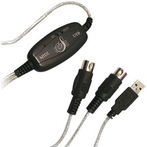 Adapter USB to Midi In-Out LOGILINK UA0037