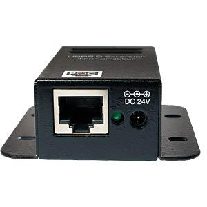 USB 2.0 Cat.5 Extender max. 50m mit 4 Port Hub LOGILINK UA0252