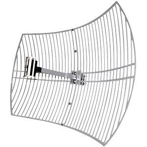 WiFi aerial, grid parabolic, 24 dBi, outdoor LOGILINK WL0097
