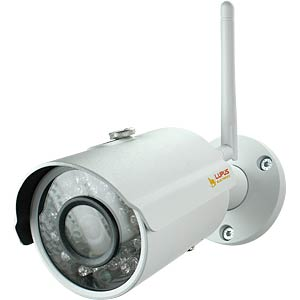 Überwachungskamera, IP, LAN, WLAN, außen LUPUS 10201