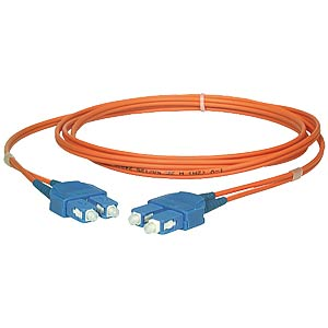 Duplex adapter cable, SC/SC, 2 m FREI