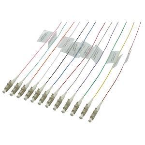 Optical-fibre pigtails LC, 12 pigtails, LC OM1 62/125 µ FIBREFAB LC62B2E-12/1B