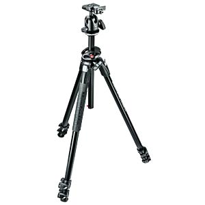 290 DUAL Kit, Alu 3 sec. tripod w/ 90°column and ball head MANFROTTO MK290DUA3-BH