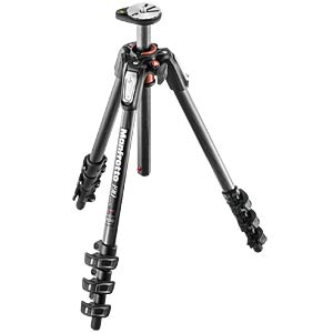 190 carbon fibre 4-section tripod, with horizontal column MANFROTTO MT190CXPRO4
