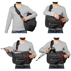 Pro Light camera backpack for DSLR/CSC/C100 MANFROTTO MB PL-3N1-26