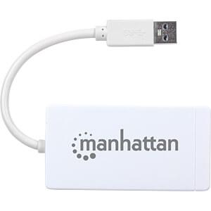 Netzwerkkarte, USB 3.0, Gigabit Ethernet, 1x RJ45 MANHATTAN 507578