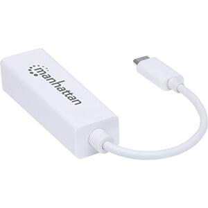 Netzwerkkarte, USB Typ C, Gigabit Ethernet, 1x RJ45 MANHATTAN 507585