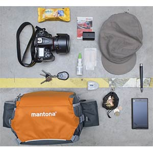 Fotografie, Tasche, ElementsPro 20, orange MANTONA 20583
