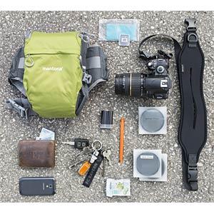 Kameratasche mit Bauchgurt MANTONA 20584