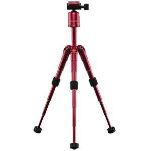 Photo/Desktop/Travel tripod red MANTONA 21183