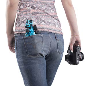 Photo/Desktop/Travel tripod blue MANTONA 21184
