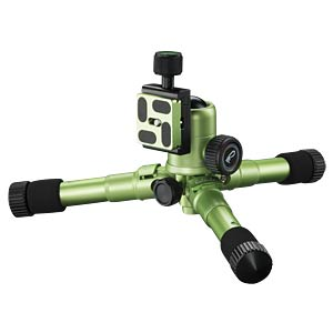 Photo/Desktop/Travel tripod green MANTONA 21186
