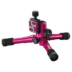 Foto-, Tisch- und Travelstativ, pink MANTONA 21187