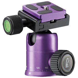 Photo/Desktop/Travel tripod purple MANTONA 21188