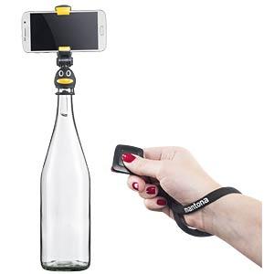 Tischstativ, Handstativ, Selfie-Stick für Flaschen MANTONA 21236