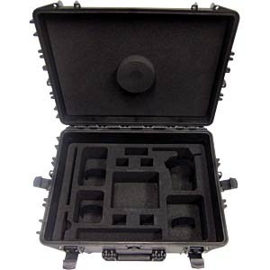 Case for dji Phantom 3, IP67-certified PLASTICA PANARO MAX540H245PH3