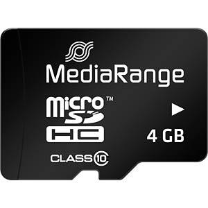 MR 956 - MicroSDHC-Speicherkarte 4GB