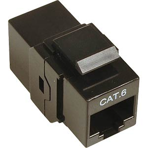Modular coupler, patch connector CAT6 FREI