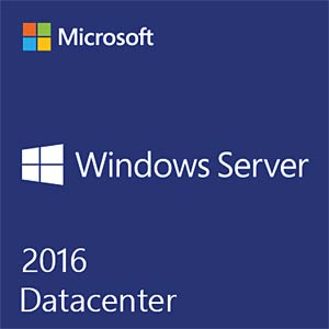 Software, Windows Server 2016 Datacenter, 16 Core (SB/OEM) MICROSOFT P71-08653