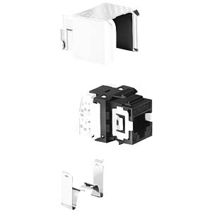 TrueNet® modules KM8 black, 1 piece ADC-KRONE 68301810-04