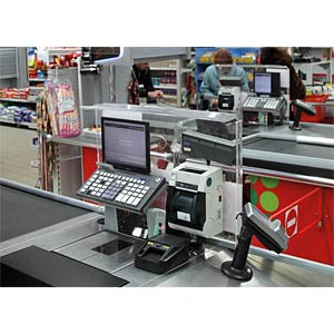 Automatic banknote detector for Point of Sale MONIRON