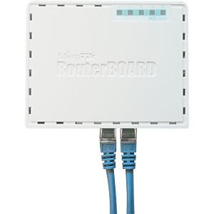hEX mit Dual Core 880 MHz CPU, 256 MB RAM, 5x Gbit LAN MIKROTIK RB750GR3