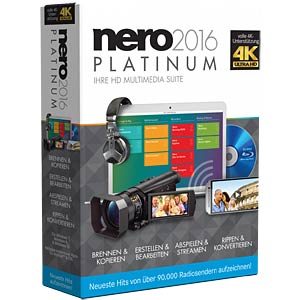 Rip and convert CDs, DVDs and Blu-rays NERO AG EMEA-12260000/1309