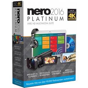 CDs, DVDs, Blu-rays rippen und umwandeln NERO AG EMEA-12260000/1309
