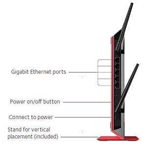 Wi-Fi Range Dualband Extender 1200 MBit/s NETGEAR EX6200-100PES