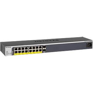 Switch, 16-Port, Gigabit Ethernet, PoE NETGEAR GS418TPP-100EUS