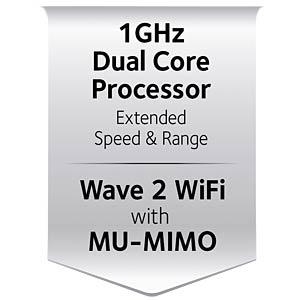 WLAN Router 2.4/5 GHz 2300 MBit/s NETGEAR R7000P-100PES