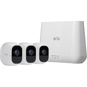 Überwachungskamera Arlo Pro 2, IP, WLAN, Server + 3 Außenkameras NETGEAR VMS4330P-100EUS