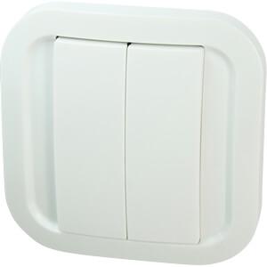 Wand-Schalter EnOcean, 1-Fach / 2-Fach NODON CWS-2-1-01
