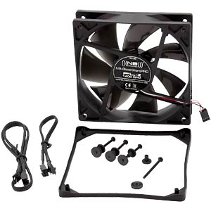 Noiseblocker BlackSilent Pro Fan PL2, 120 mm NOISEBLOCKER PL-2