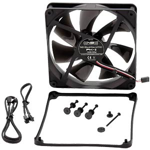 Noiseblocker BlackSilent Pro Fan PK2, 140 mm NOISEBLOCKER PK-2